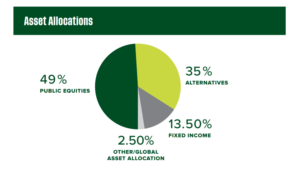 Graph of Asset Allocations
